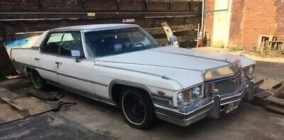 1973 Cadillac Sedan Deville Pillarless Project Car For Sale (picture 2 of 6)