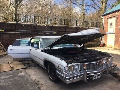 1973 Cadillac Sedan Deville Pillarless Project Car For Sale (picture 5 of 6)