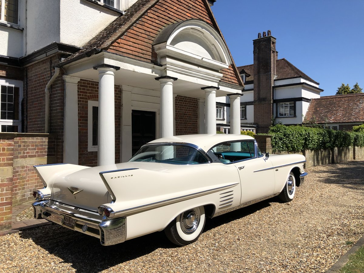1958 CADILLAC 2 DOOR PILLARLESS COUPE STUNNING CAR For Sale (picture 6 of 6)