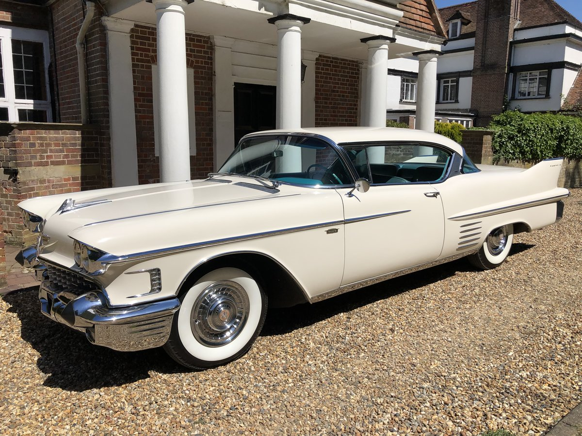 1958 CADILLAC 2 DOOR PILLARLESS COUPE STUNNING CAR For Sale (picture 2 of 6)