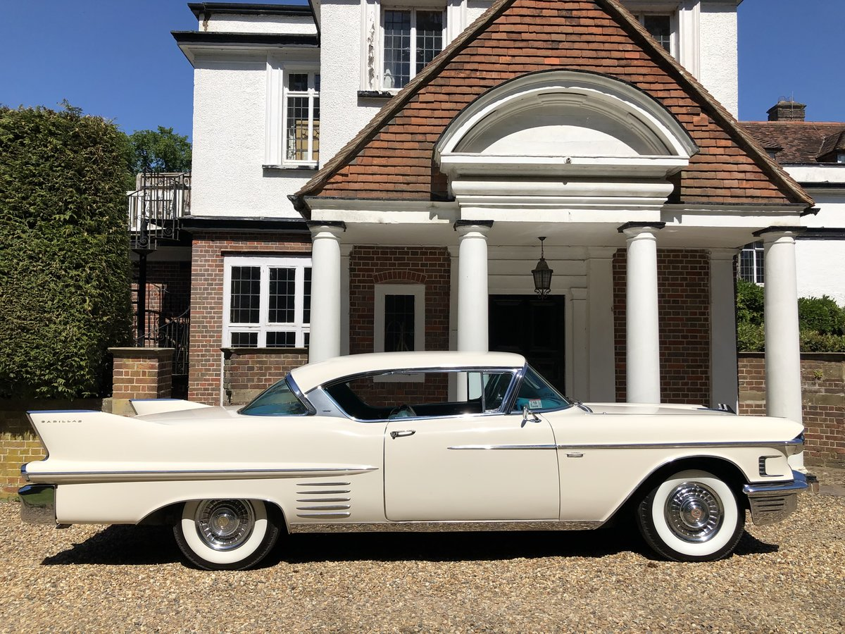 1958 CADILLAC 2 DOOR PILLARLESS COUPE STUNNING CAR For Sale (picture 3 of 6)