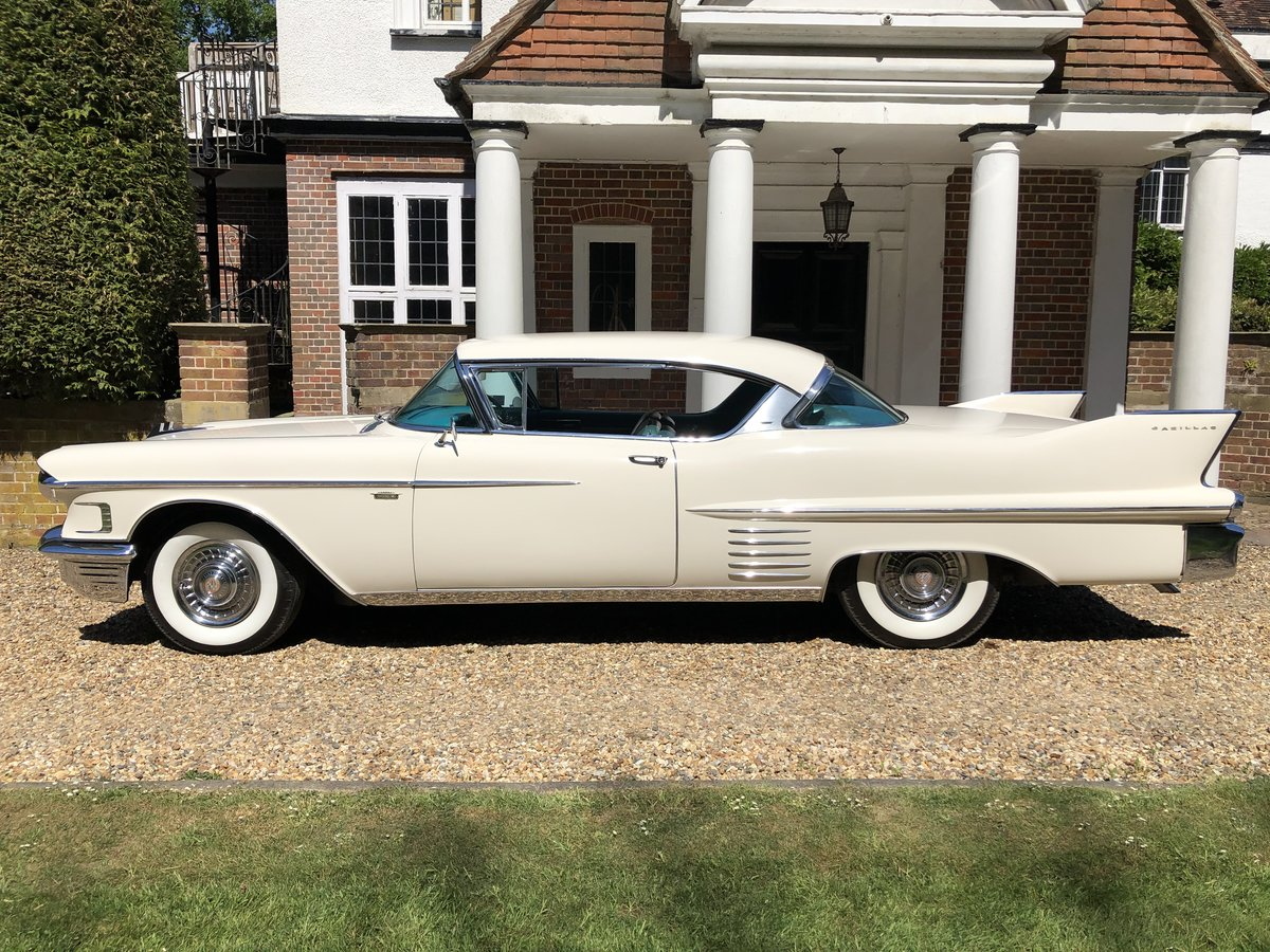 1958 CADILLAC 2 DOOR PILLARLESS COUPE STUNNING CAR For Sale (picture 4 of 6)