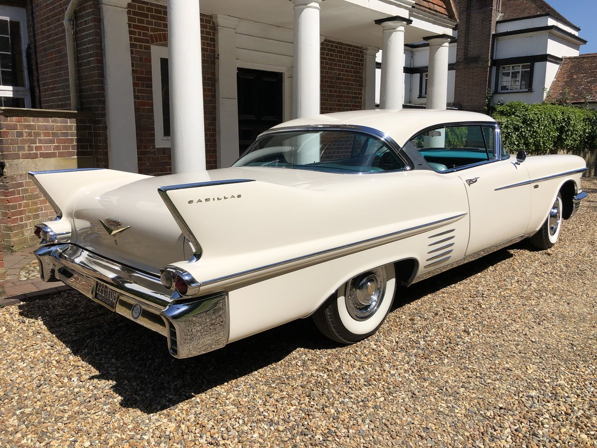 1958 CADILLAC 2 DOOR PILLARLESS COUPE STUNNING CAR For Sale (picture 5 of 6)