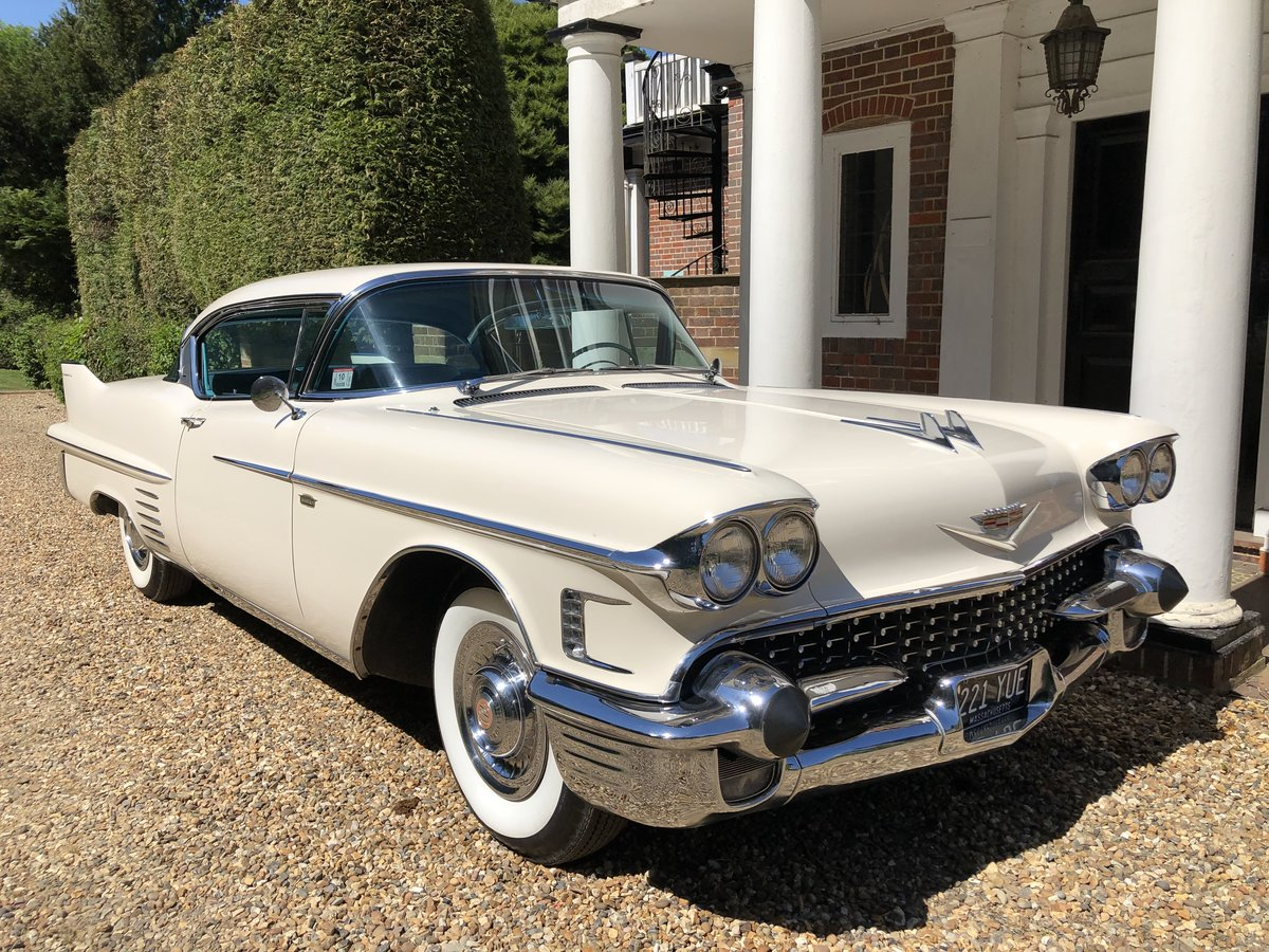 1958 Cadillac Coupe - Low Milage - Stunning Car For Sale (picture 1 of 6)