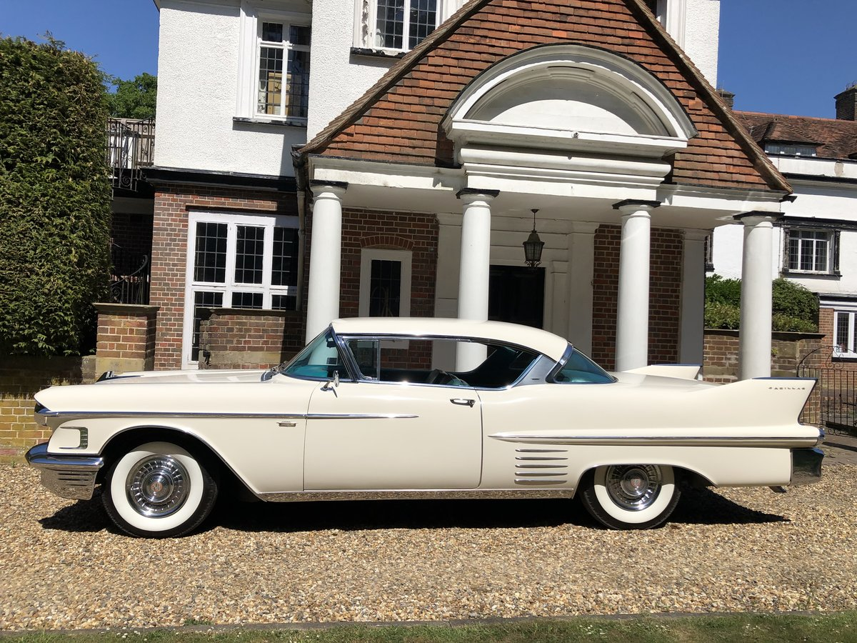 1958 Cadillac Coupe - Low Milage - Stunning Car For Sale (picture 2 of 6)