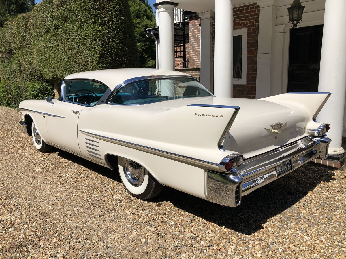 1958 Cadillac Coupe - Low Milage - Stunning Car For Sale (picture 3 of 6)