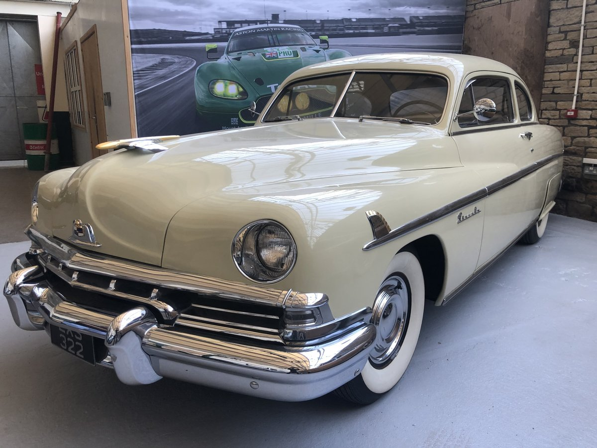 1951 Lincoln Sports Coupe SOLD (picture 1 of 6)