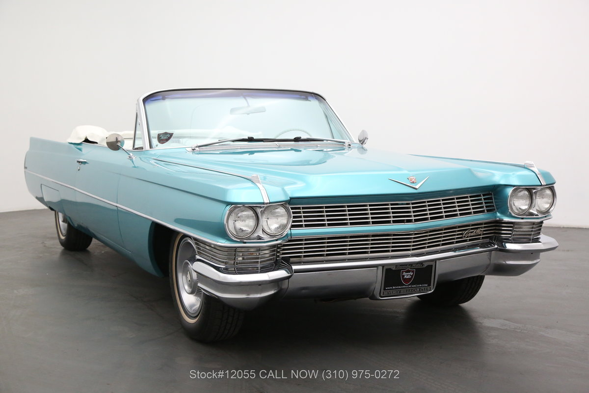 1964 Cadillac DeVille Convertible For Sale (picture 1 of 6)