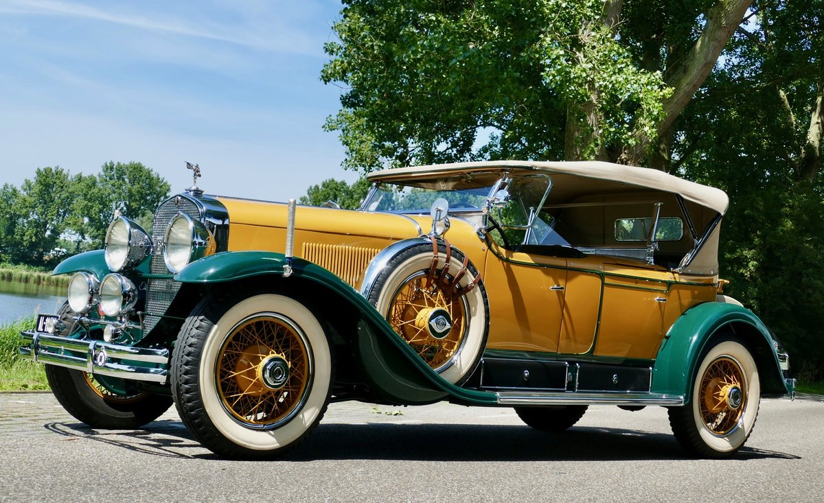 Cadillac V8 341A Sport Phaeton 1928 For Sale (picture 1 of 6)