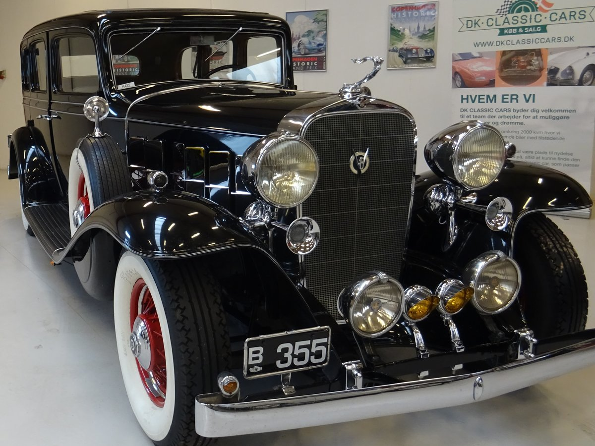 1932 Cadillac 355B Limousine – 7 passenger – Matching number For Sale (picture 1 of 23)