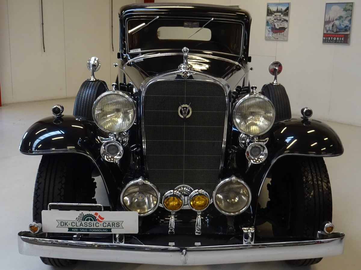 1932 Cadillac 355B Limousine – 7 passenger – Matching number For Sale (picture 2 of 23)