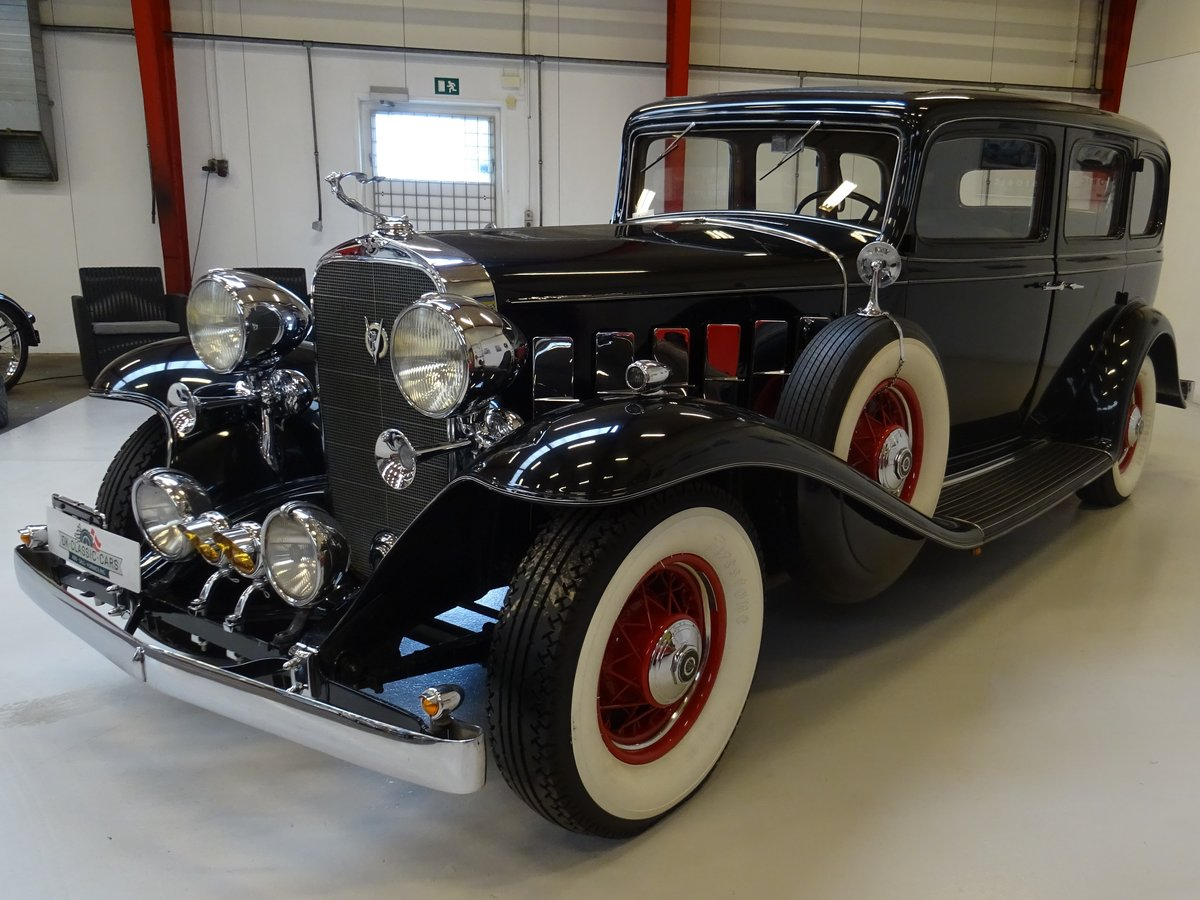 1932 Cadillac 355B Limousine – 7 passenger – Matching number For Sale (picture 3 of 23)