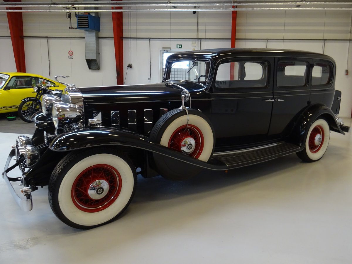 1932 Cadillac 355B Limousine – 7 passenger – Matching number For Sale (picture 4 of 23)