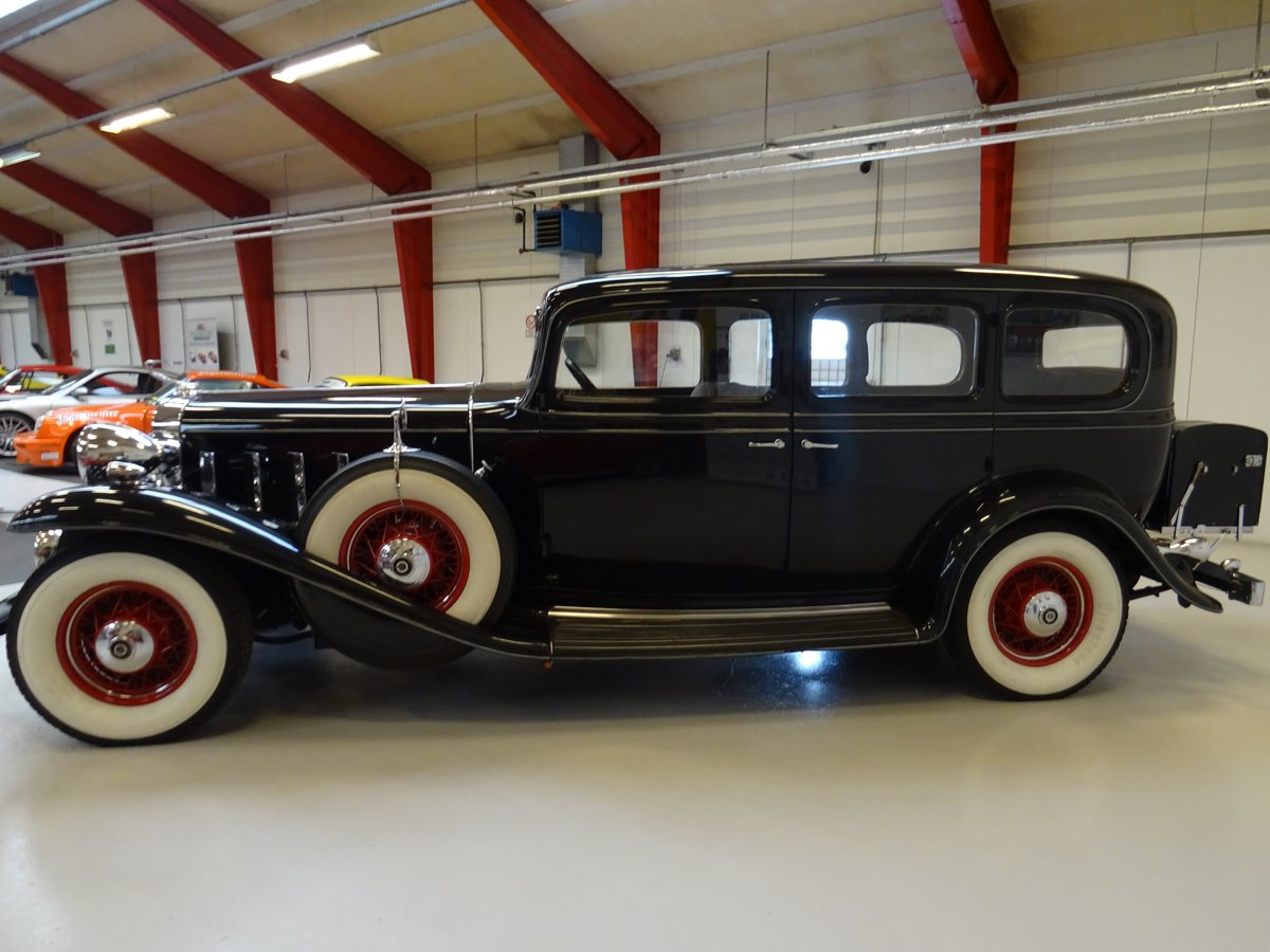 1932 Cadillac 355B Limousine – 7 passenger – Matching number For Sale (picture 6 of 23)