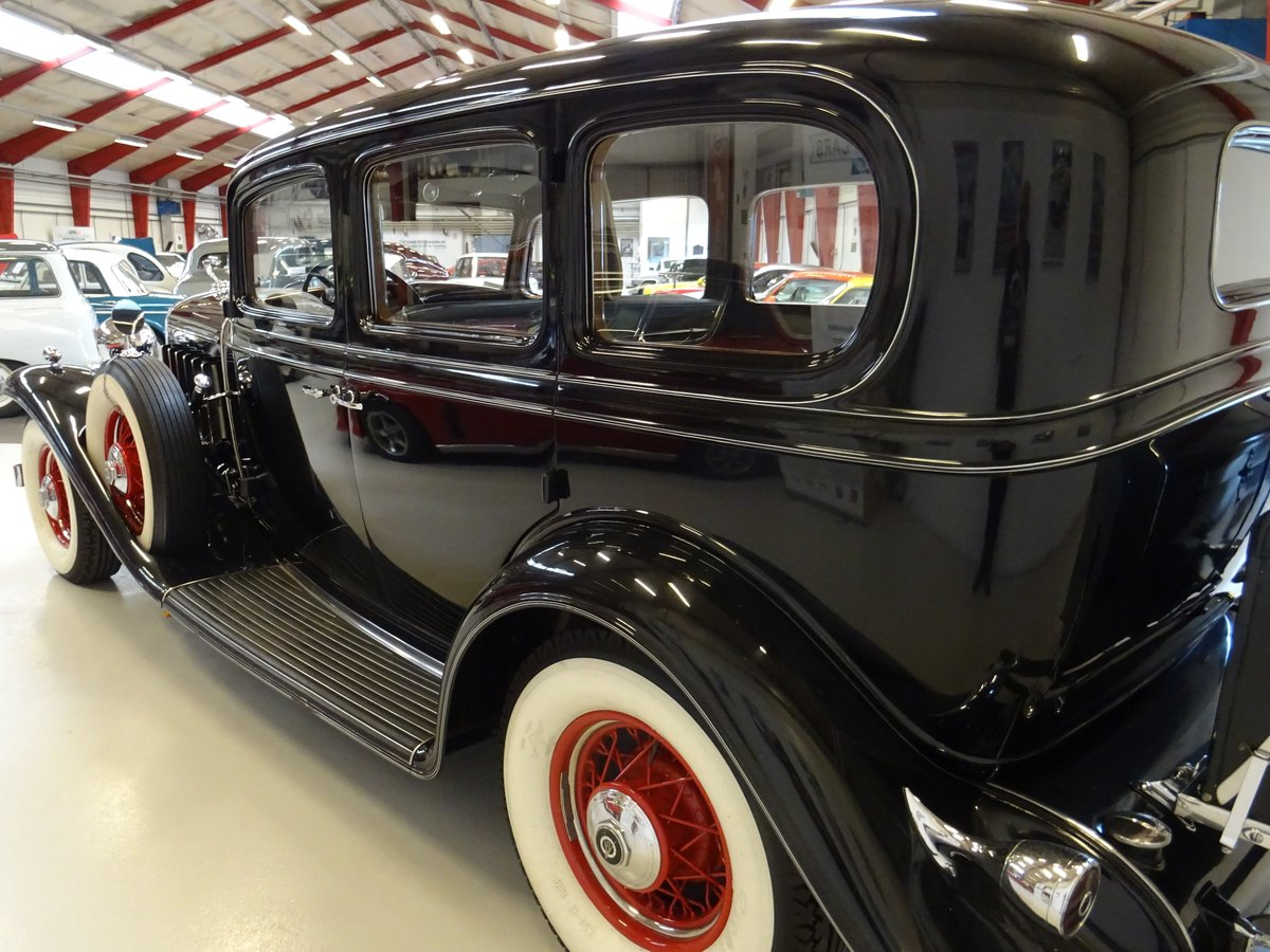 1932 Cadillac 355B Limousine – 7 passenger – Matching number For Sale (picture 8 of 23)
