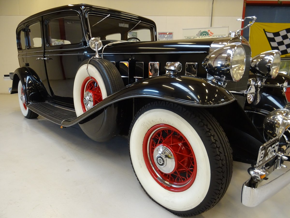 1932 Cadillac 355B Limousine – 7 passenger – Matching number For Sale (picture 12 of 23)