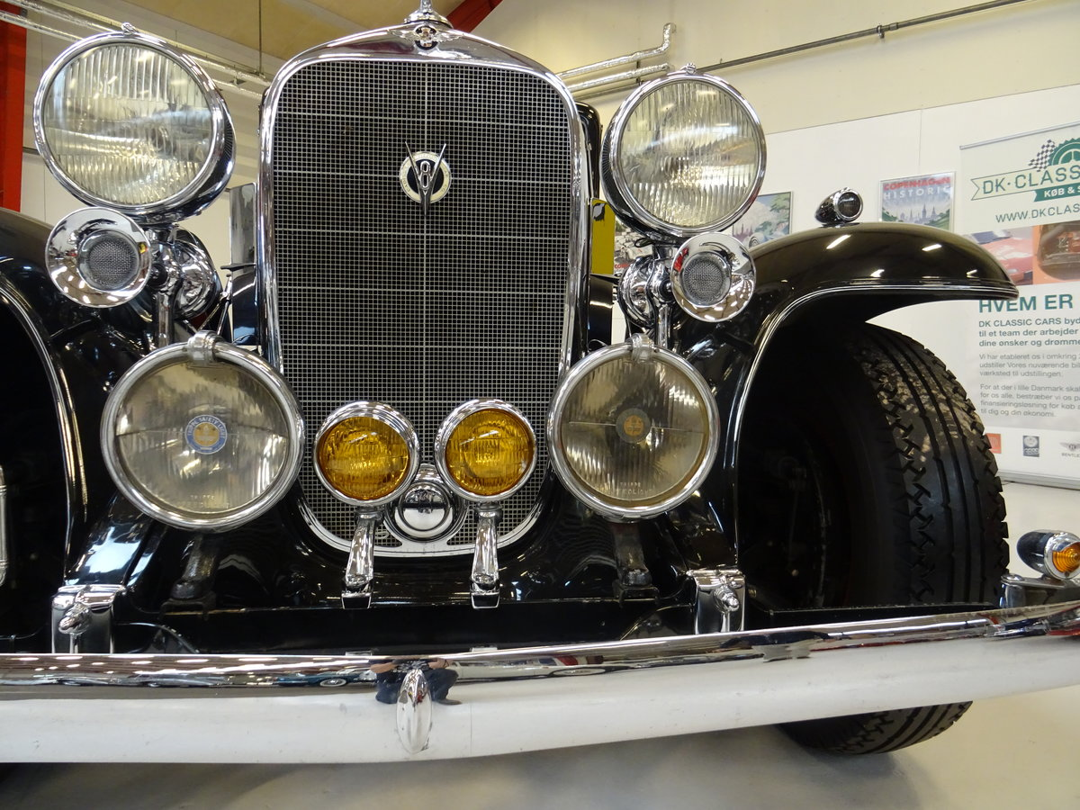 1932 Cadillac 355B Limousine – 7 passenger – Matching number For Sale (picture 13 of 23)