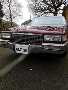 1990 Cadillac Sedan De Ville 4.5 V8