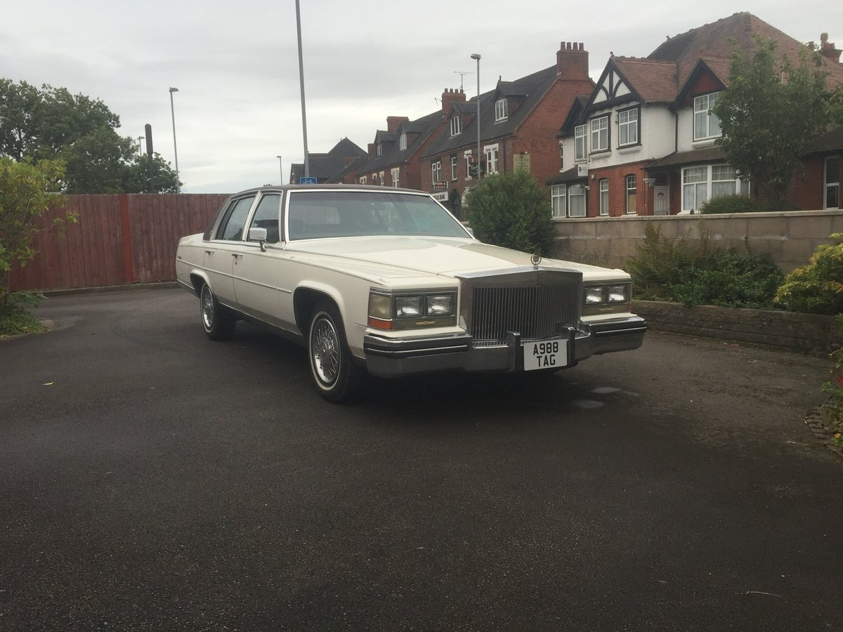 1984 CADILLAC Fleetwood Brougham Deville For Sale (picture 1 of 6)