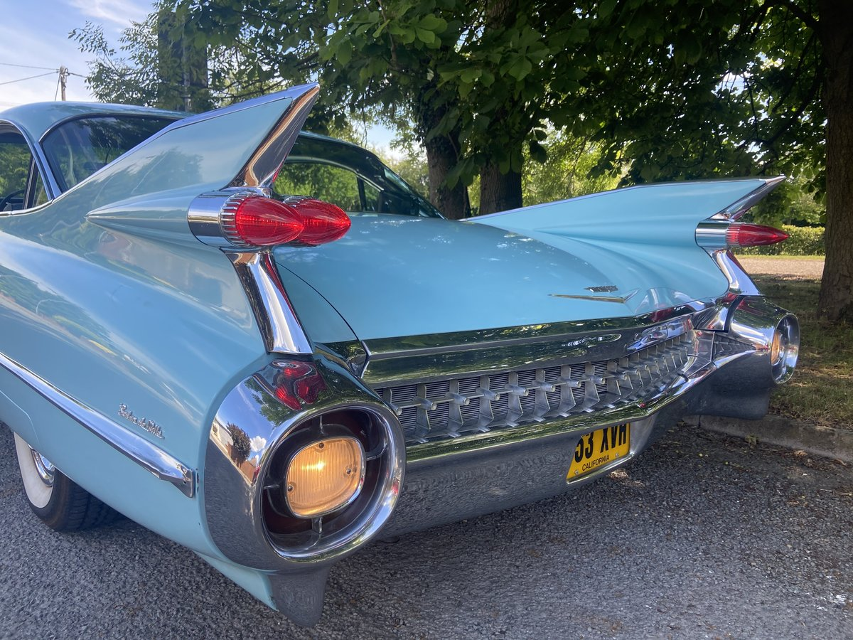 1959 Cadillac Sedan Deville Totally Original For Sale (picture 1 of 6)