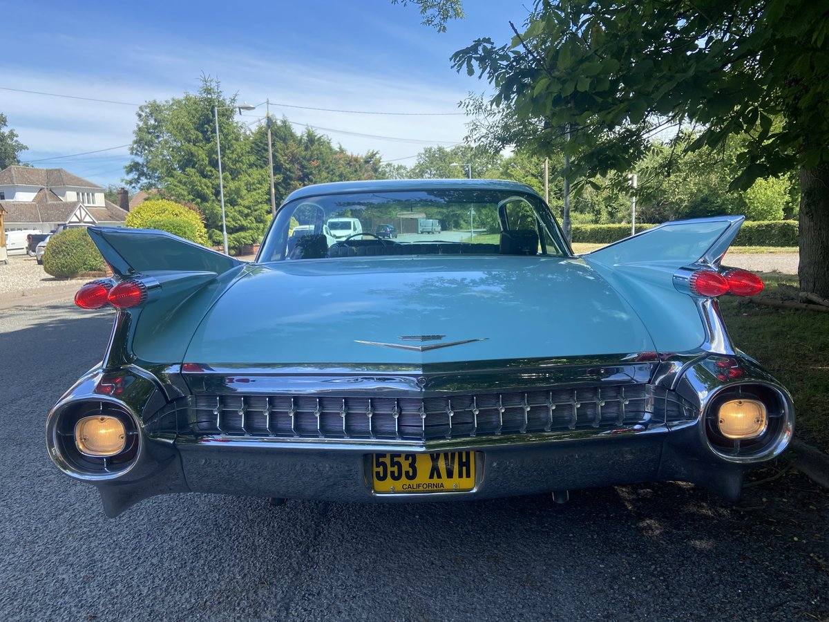 1959 Cadillac Sedan Deville Totally Original For Sale (picture 4 of 6)