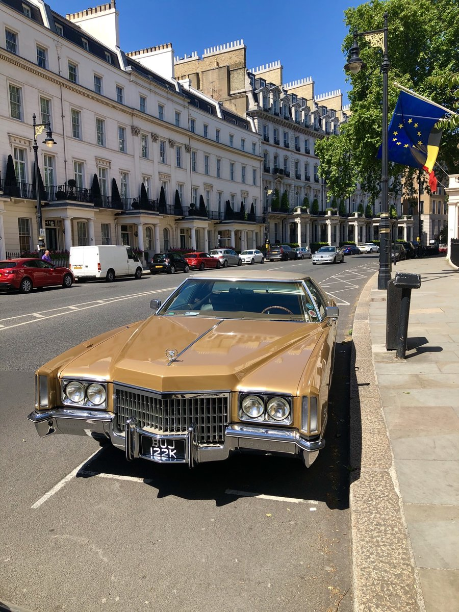 1972 Cadillac Eldorado Gold classic car vintage For Sale (picture 2 of 6)