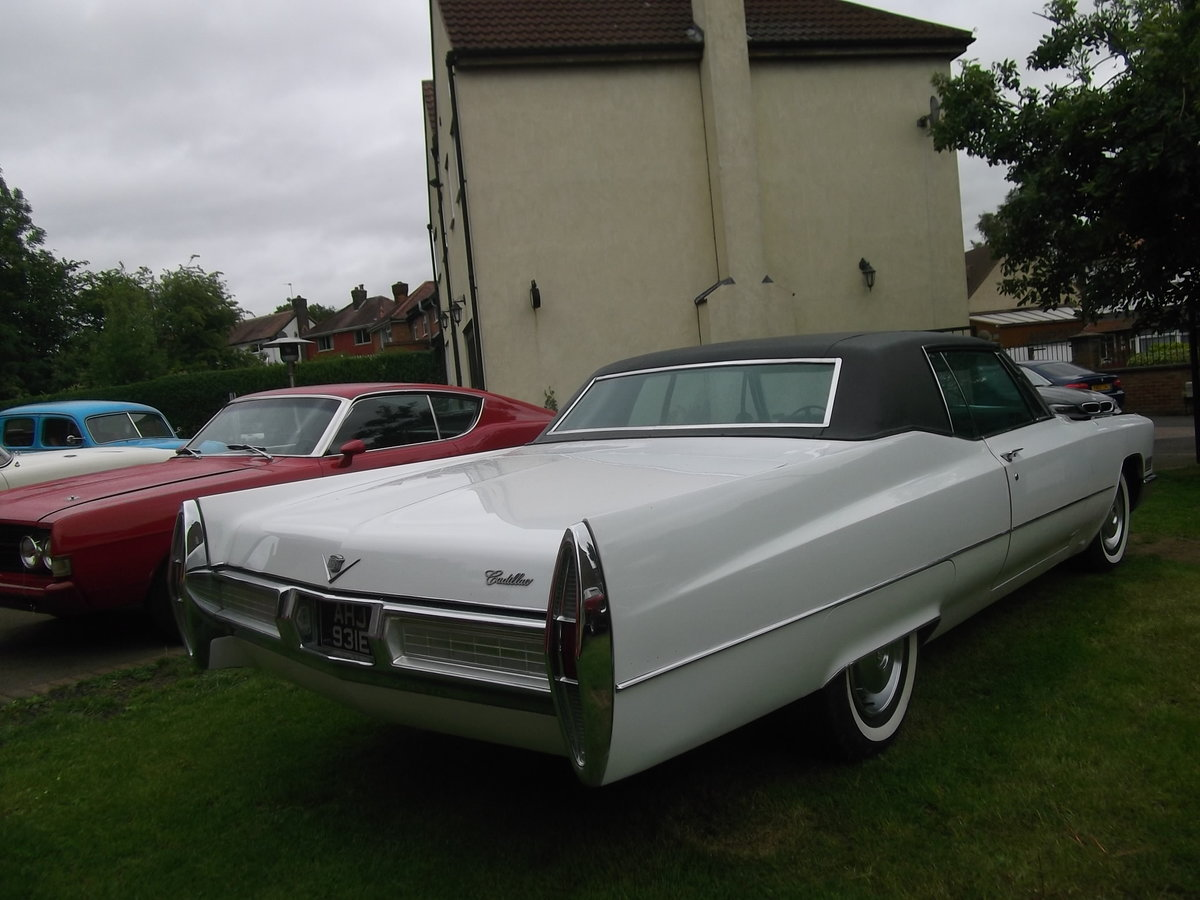 1967 Cadillac Coupe DeVille, 429 Big Block V8, Automatic SOLD (picture 3 of 6)