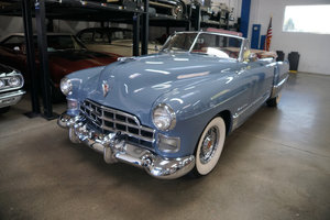 1948 Cadillac Series 62 346 V8 Flathead Convertible For Sale