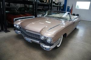 1960 Cadillac Series 62 V8 Convertible SOLD