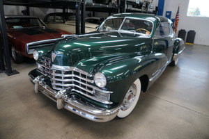 1947 Cadillac Series 62 2 Dr Club Coupe Fastback Sedanet