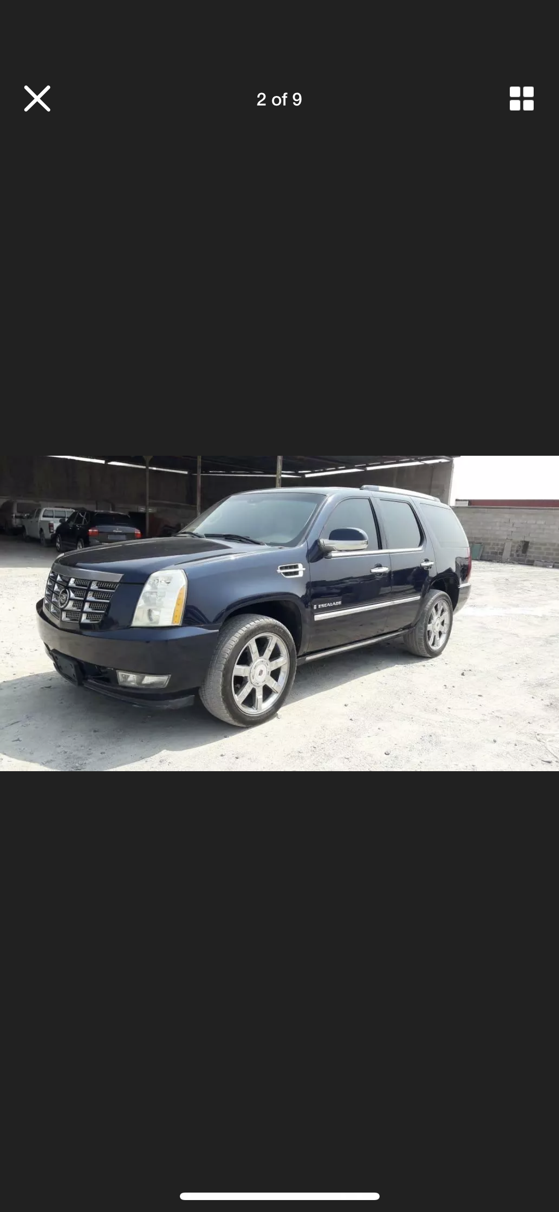 2008 CADILLAC ESCALADE 6.2 LHD LEFT HAND DRIVE FRESH IMPORT LOW M For Sale (picture 1 of 6)