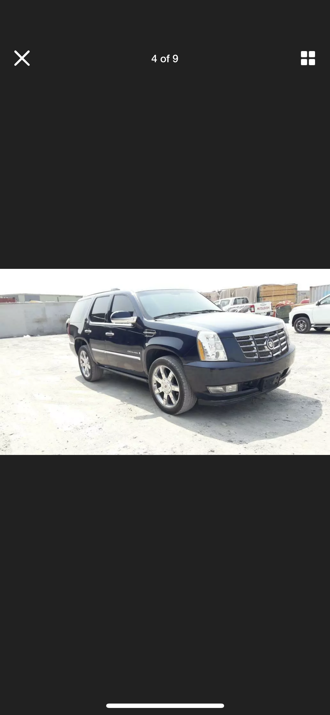 2008 CADILLAC ESCALADE 6.2 LHD LEFT HAND DRIVE FRESH IMPORT LOW M For Sale (picture 2 of 6)