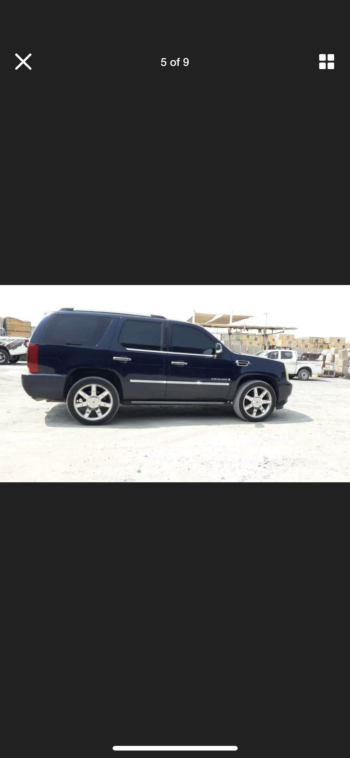2008 CADILLAC ESCALADE 6.2 LHD LEFT HAND DRIVE FRESH IMPORT LOW M For Sale (picture 3 of 6)
