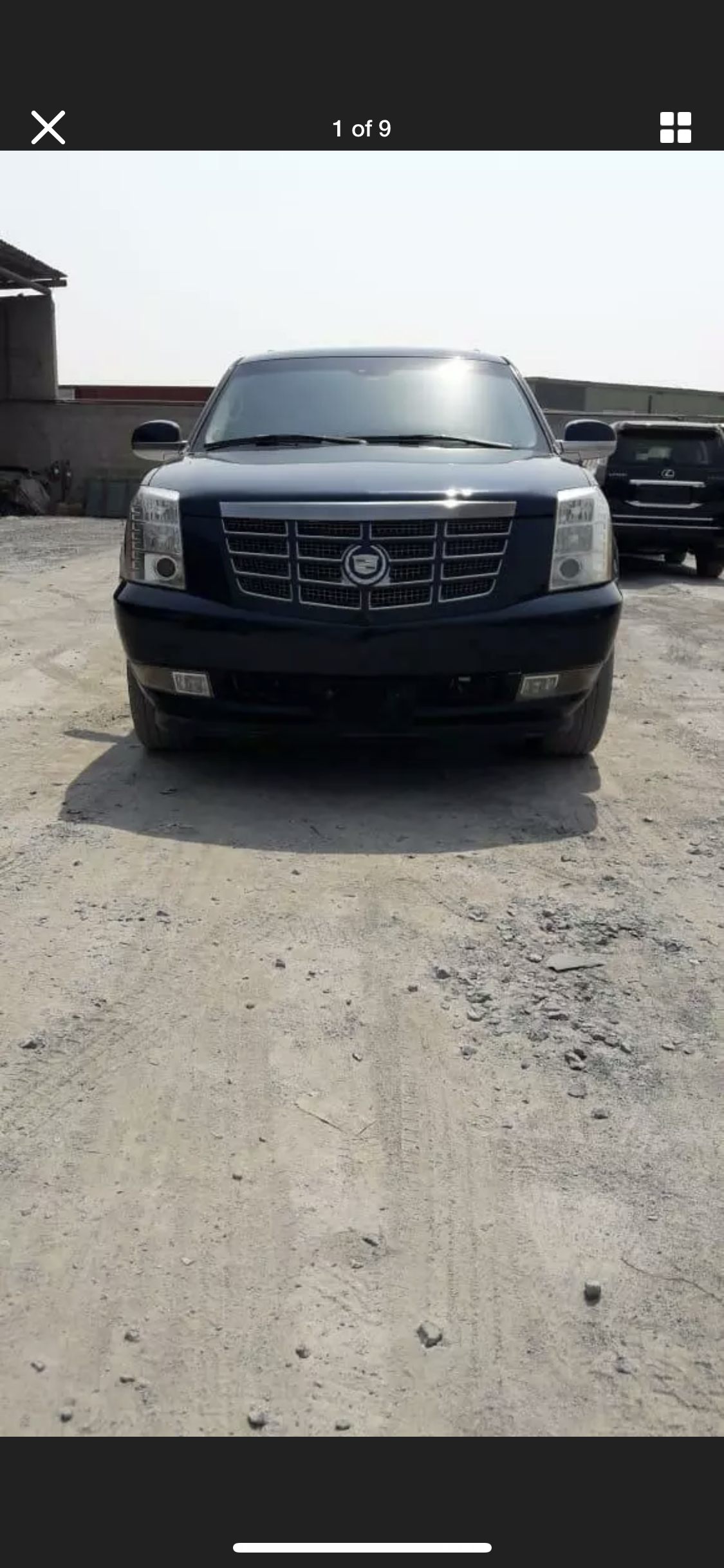 2008 CADILLAC ESCALADE 6.2 LHD LEFT HAND DRIVE FRESH IMPORT LOW M For Sale (picture 4 of 6)