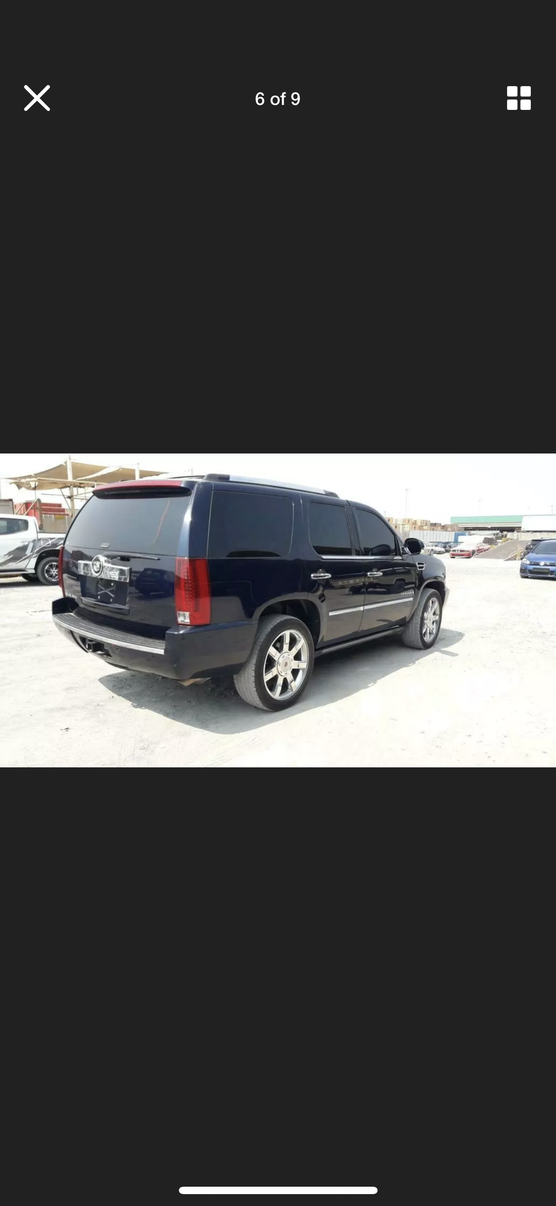 2008 CADILLAC ESCALADE 6.2 LHD LEFT HAND DRIVE FRESH IMPORT LOW M For Sale (picture 5 of 6)