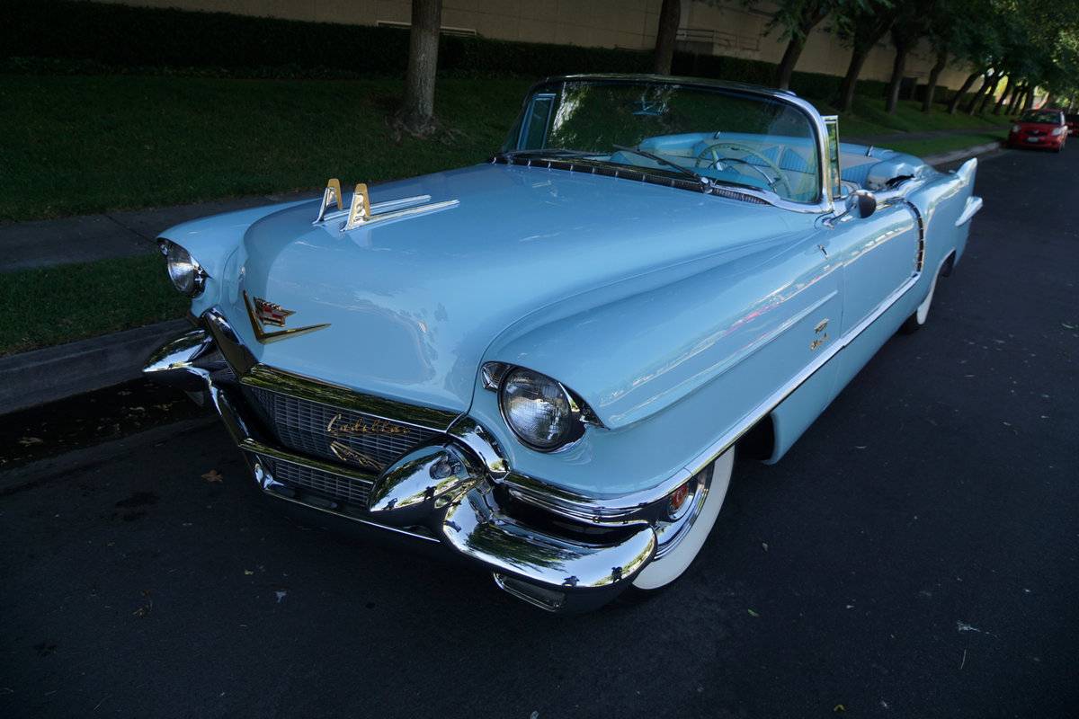 1956 Cadillac Eldorado Biarritz Convertible -Fully restored For Sale (picture 1 of 6)