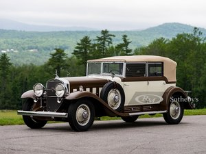 1930 Cadillac V-16 All-Weather Phaeton by Fleetwood