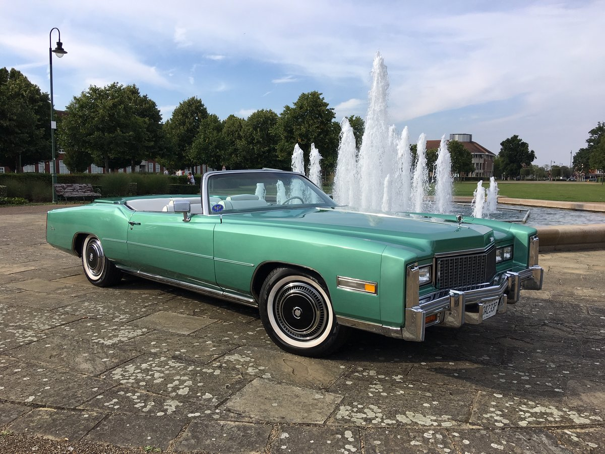 1976 Cadillac Eldorado Covertible For Sale (picture 1 of 6)