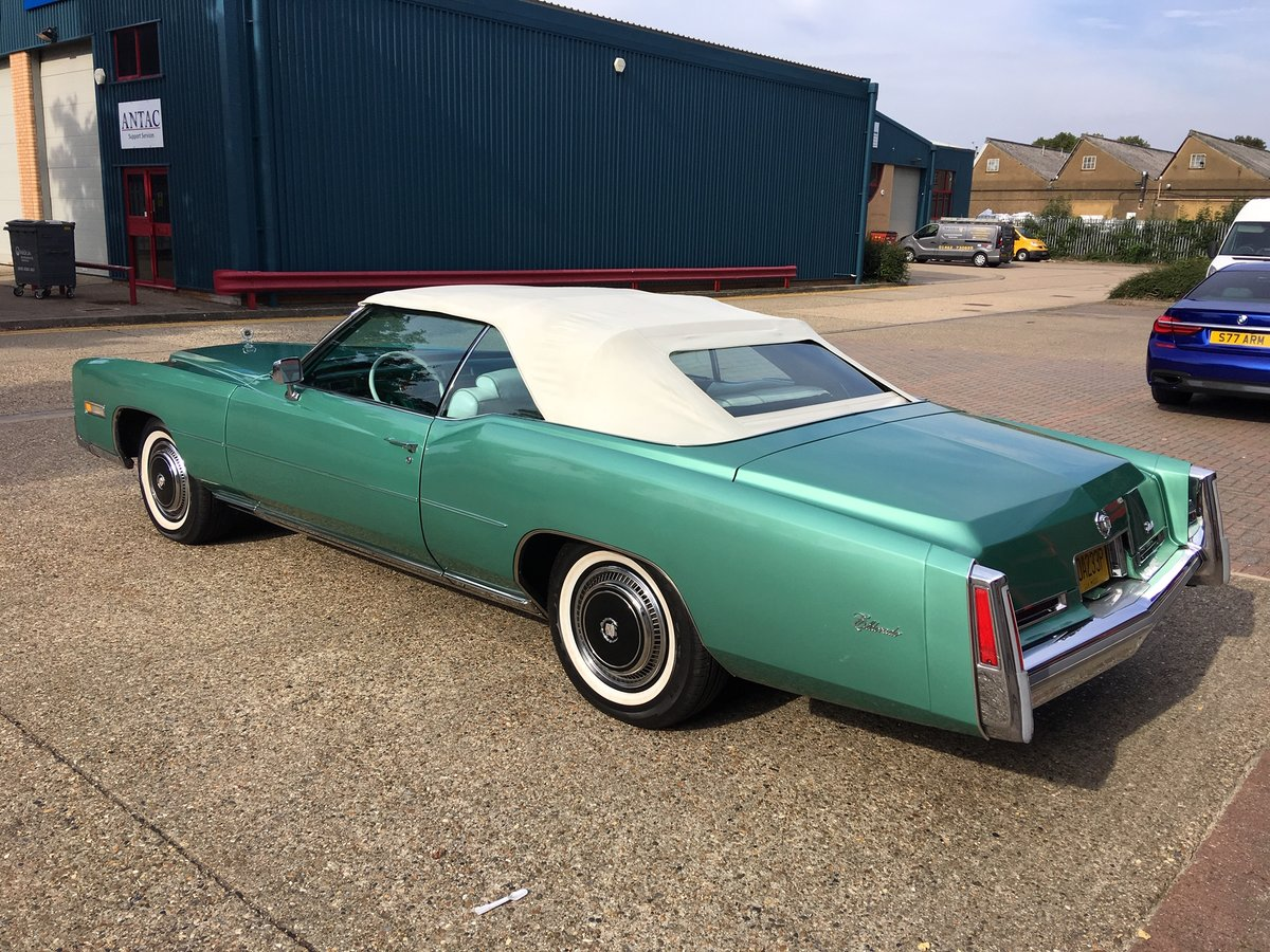 1976 Cadillac Eldorado Covertible For Sale (picture 3 of 6)