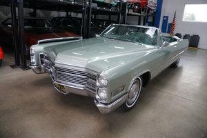 Orig CA 1966 Cadillac DeVille 429/340HP V8 Convertible SOLD