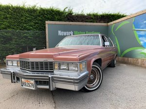 1977 Cadillac 1st October Auction entry - physical sale!
