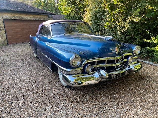 1951 Cadillac Convertible For Sale (picture 5 of 6)