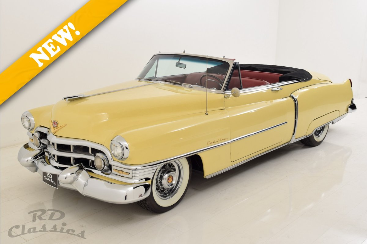 1952 Cadillac series 62 Convertible For Sale (picture 1 of 6)