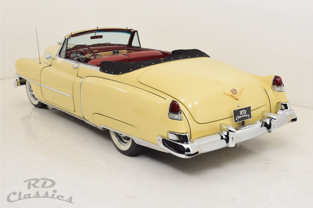 1952 Cadillac series 62 Convertible For Sale (picture 4 of 6)