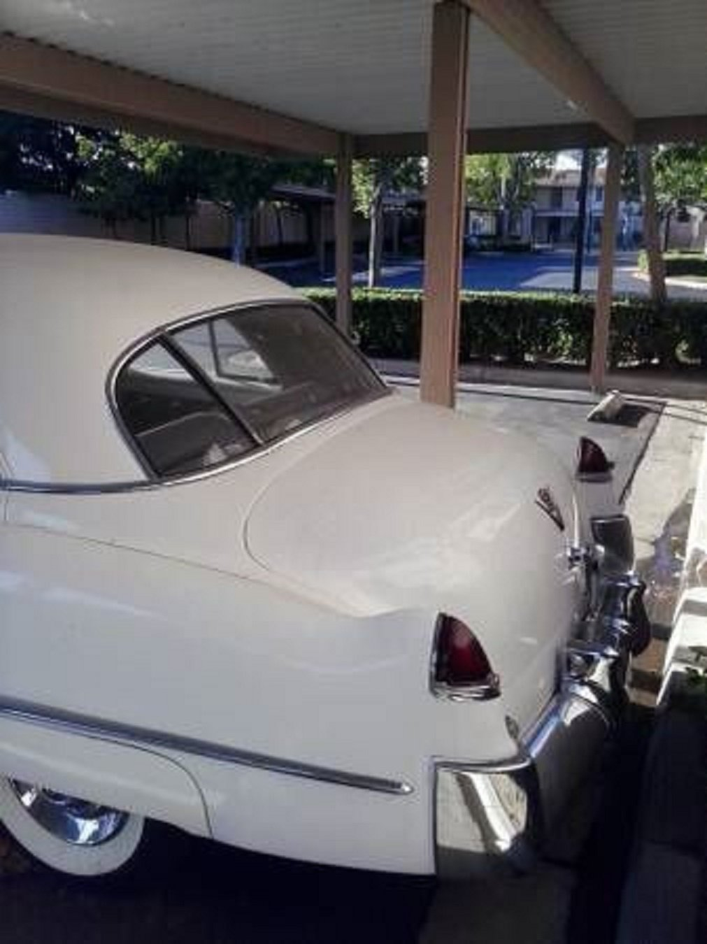 1949 Cadillac Fleetwood 4DR Sedan .. White For Sale (picture 3 of 6)