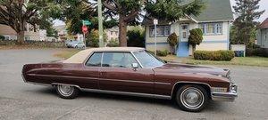 Picture of 1973 100% complete original 2 dr Cadillac deVille