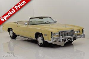 Picture of 1975 Cadillac Eldorado Convertible SOLD