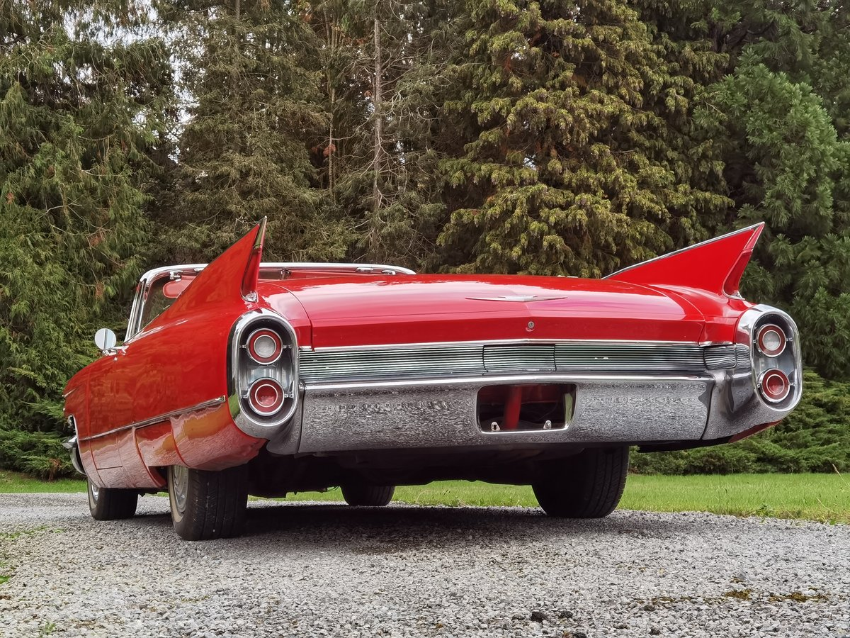 1960 Cadillac Series 62 Convertible SOLD (picture 2 of 2)