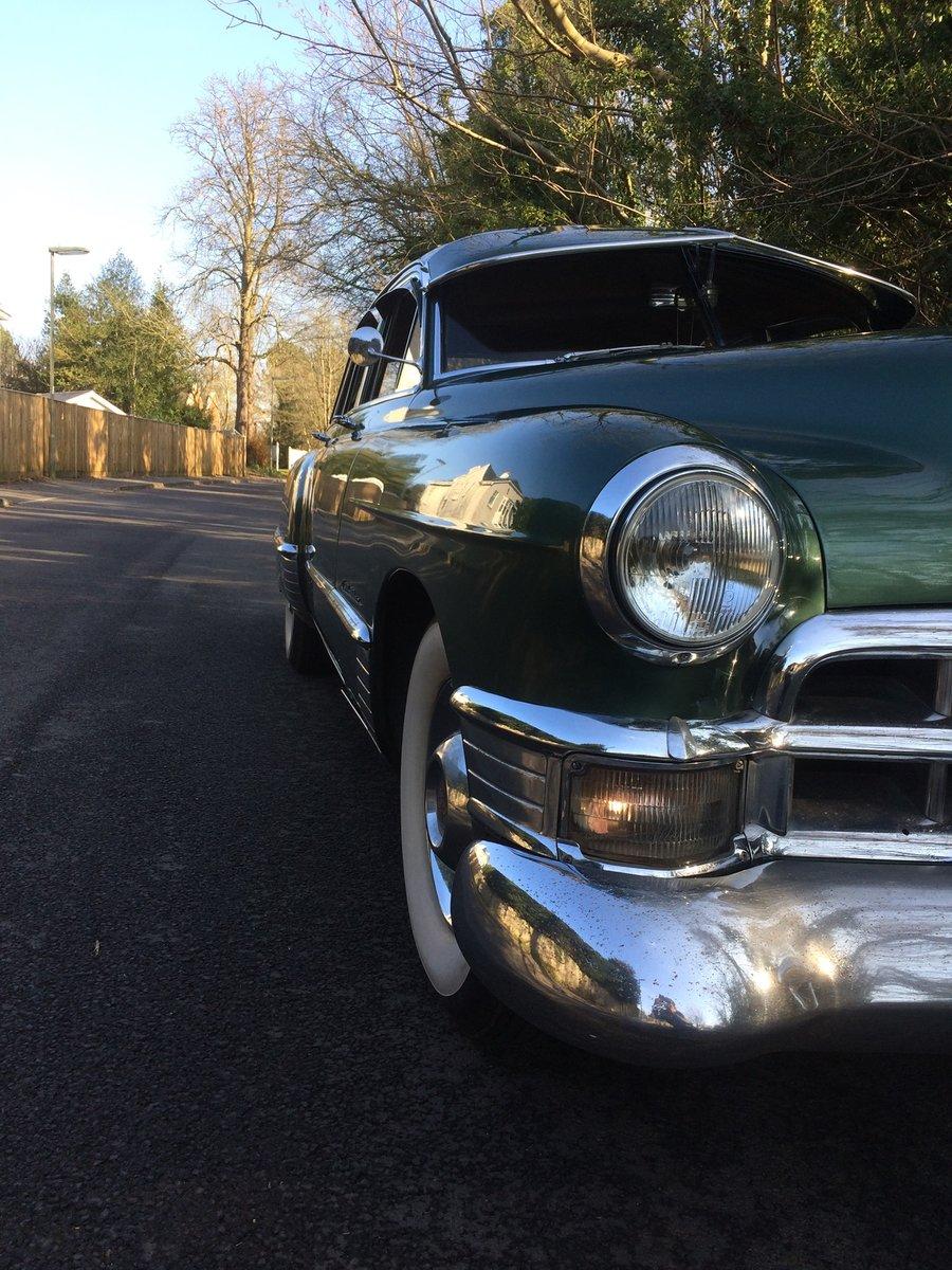 1949 Cadillac Series 62 Sedan 331ci V8 Auto For Sale (picture 3 of 9)
