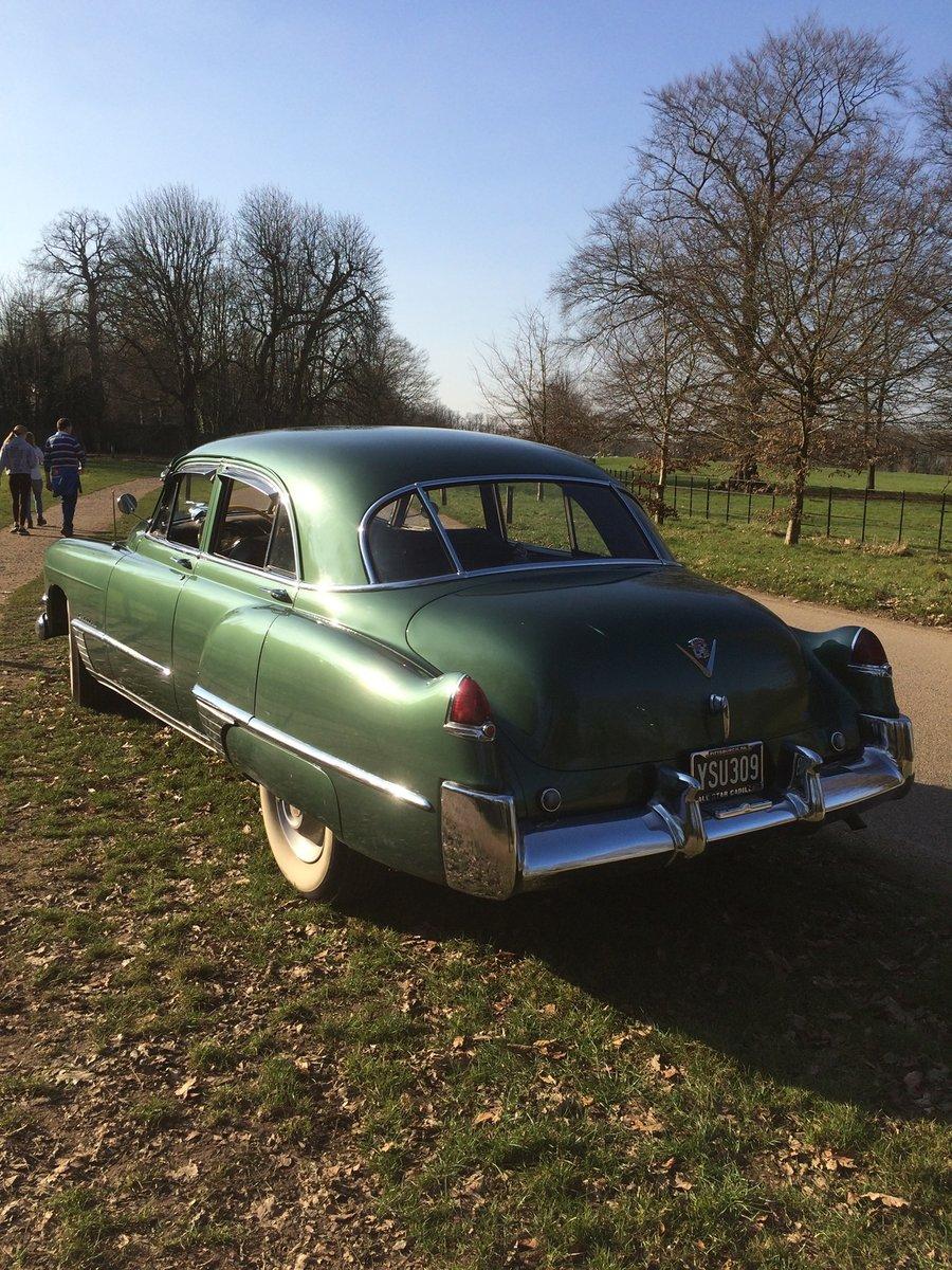 1949 Cadillac Series 62 Sedan 331ci V8 Auto For Sale (picture 5 of 9)